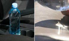 İtfaiyeciler Aracınız Neden Plastik Su Şişesi Bırakmamanız Gerektiğini Böyle Anlattılar