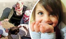 Küçük Leyla'nın bulunduğu  o anın fotoğrafları ilk kez paylaşıldı… Görenler gözyaşlarına boğuldu…..
