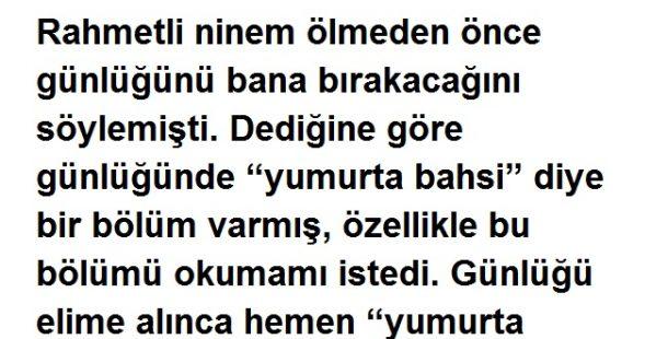 Yumurta Bahsi