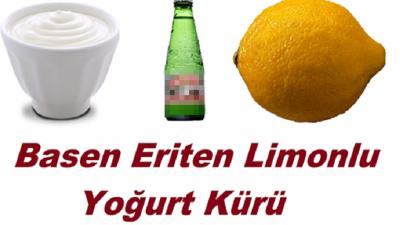 Limon Soda Ayran Kürünü Kullanarak 2 Haftada Göbek Yağlarını Eritebilirsiniz