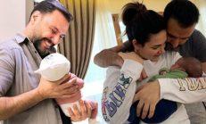 Buse Varol ve Alişan çiftinin oğulları Burak sünnet oluyor