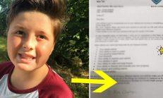 Otizmli Çocuk Sınavdan Düşük Puan Aldı – Öğretmeninin Yazdığı Mektup Annesini Ağlattı
