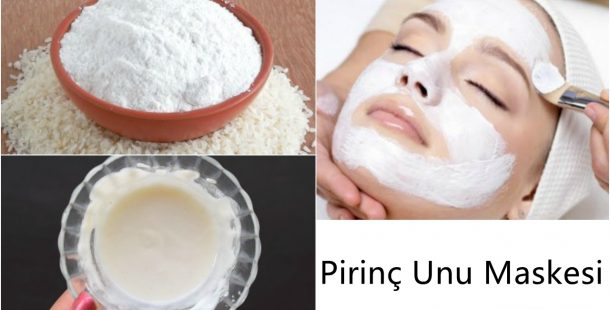 Pirinç Unu Maskesi İle Bembeyaz ve Pürüzsüz Ciltler