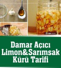 Limon ve Sarımsak Kürü Nasıl Hazırlanır? Tarifi
