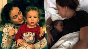 """Ceyda Düvenci: """"İki gündür oğlumla hastanedeyim çünkü bakacak kimse yok"""