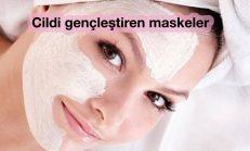 Cildi gençleştiren maske