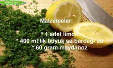 Maydanoz Suyu ve Limon Kürü ile Nasıl Kilo Verilir?