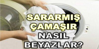 Çamaşırlarınızı Bembeyaz Yapacak 3 Formül