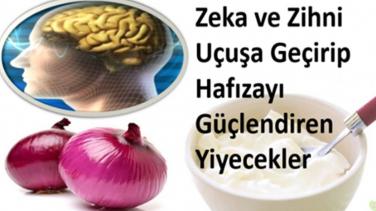 Zeka ve Zihni Uçuşa Geçirip, -Hafızayı Güçlendiren Yiyecekler