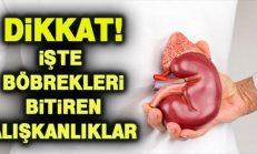 Böbreklerinize Zarar Veren 10 Tehlikeli Alışkanlık!