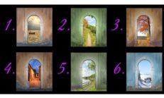 Hangi kapıyı seçtiniz? Kişilik testi