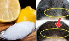 -Hindistancevizi Y-ağı ve Limon ile Saçınız Artık Hiç B-eyazlamayacak