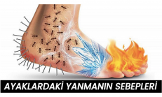 Ayaklarda , Yanma , Karıncalanma Oluyorsa Sebepleri Bunlar…