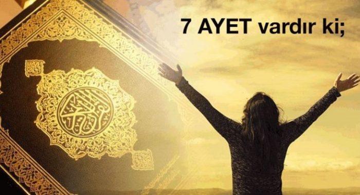 Duaların Kabulünü Hızlandıran 7 Ayet