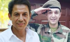 Mustafa Yıldızdoğan'ın oğlu askere gitti