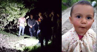 Kadavra köpeği tepki verdi; 1,5 yaşındaki Ecrin'i bulmak için kazı çalışması başlatıldı