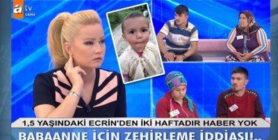 1.5 Yaşındaki Ecrin Hakkındaki Don Dakika İddiaları Kan Donduruyor