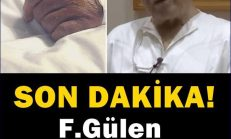 F.Gülen ve ondan sonra yerine gelecek isim