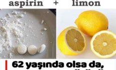 Kırışıklıkları Yok Eden Aspirin Yöntemi..
