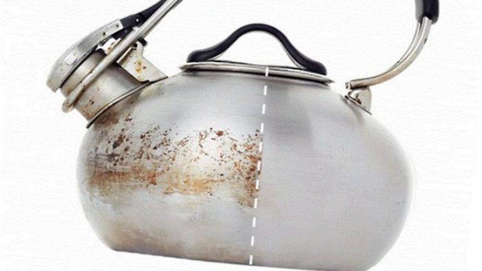 6 Adımda Çaydanlık Temizliği ve Paslanmaz Çeliklerin Dış Temizliği