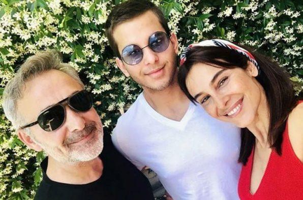 Arzum Onan ve Mehmet Aslantuğ'un oğlu Can mezun oldu