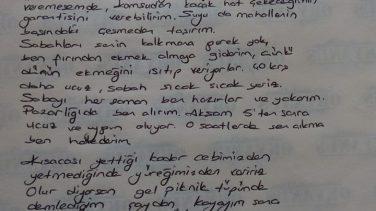 Fakir genç kızın sevdiği adama yazdığı mektup yürekleri ısıttı