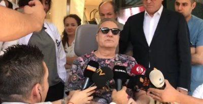 Mehmet Ali Erbil'in gözyaşları… 235 gün sonra taburcu oldu