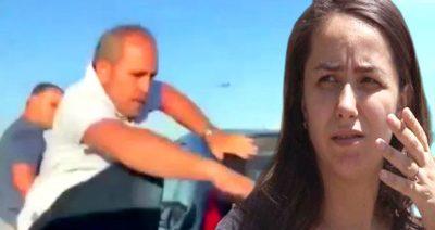 Hamile Kadının Aracına Saldıran Trafik Magandalarının Kimliği Ortaya Çıktı