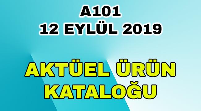 A101 12 Eylül 2019 Aktüel Ürün Kataloğu