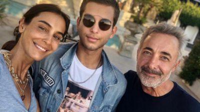 Mehmet Aslantuğ ve Arzum Onan'ın oğlulları Can üniversiteye başladı